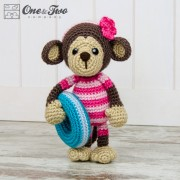 Lily the Baby Monkey Amigurumi Crochet Pattern