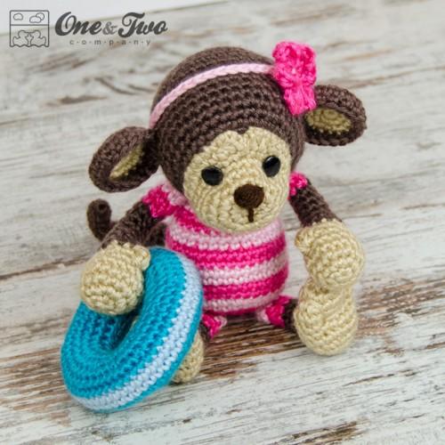 Are Amigurumi Safe For Babies : Lily the Baby Monkey Amigurumi Crochet Pattern
