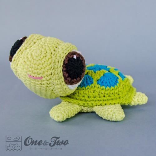 Crochet Little Turtle Amigurumi Free Patterns - DIY Magazine | 500x500