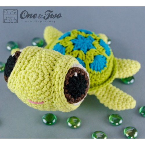 Crochet Pattern Amigurumi Turtle : Bob the Turtle Amigurumi Crochet Pattern