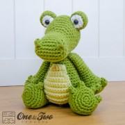 Crocodile Amigurumi Crochet Pattern