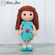 Daisy the Spring Girl Amigurumi Crochet Pattern