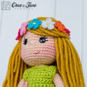 Daisy the Spring Girl Amigurumi Crochet Pattern