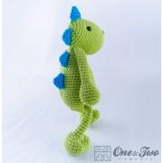 Dino Amigurumi Crochet Pattern