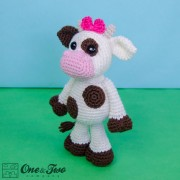 Doris the Cow Amigurumi Crochet Pattern