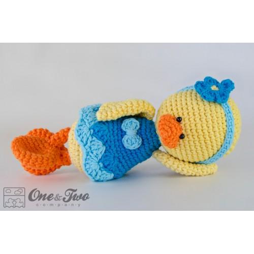 Crochet Duck Pattern Amigurumi : Duck Amigurumi Crochet Pattern