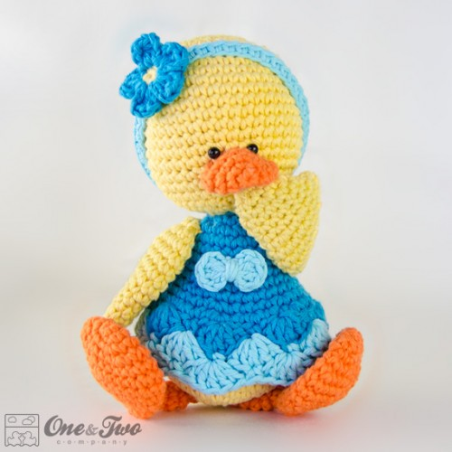 Amigurumi Duckling : Duck Lovey and Amigurumi Crochet Patterns Pack
