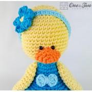Duck Amigurumi Crochet Pattern