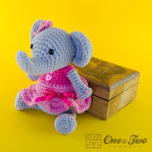 Amigurumi Crochet Patterns Elephant : Elephant Amigurumi Crochet Pattern