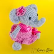 Elephant Amigurumi Crochet Pattern
