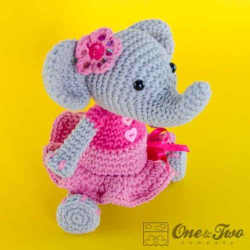 Amigurumi Elephant - FREE Crochet Pattern / Tutorial | Crochet ... | 500x500