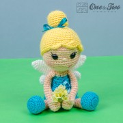 Ella the Fairy Lovey and Amigurumi Crochet Patterns Pack