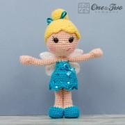 Ella the Fairy Amigurumi Crochet Pattern