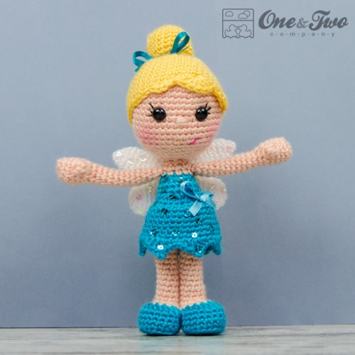Amigurumi Fairy Pattern : Ella the Fairy Amigurumi Crochet Pattern