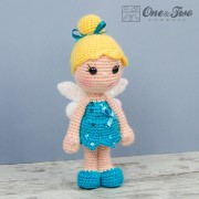 Ella the Fairy Amigurumi Crochet Pattern