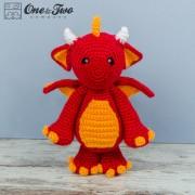 Felix the Baby Dragon Amigurumi Crochet Pattern