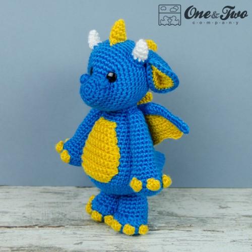 Cute Dragon Amigurumi Pattern : Felix the baby dragon amigurumi crochet pattern