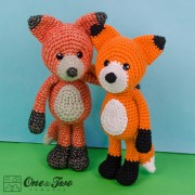 Flynn the Fox Amigurumi Crochet Pattern