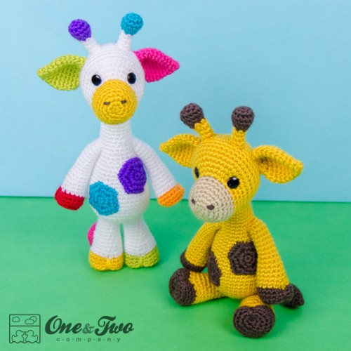 Amigurumi Free Pattern Giraffe : Geri the Giraffe Amigurumi Crochet Pattern