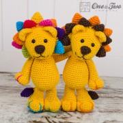 Logan the Lion Amigurumi Crochet Pattern