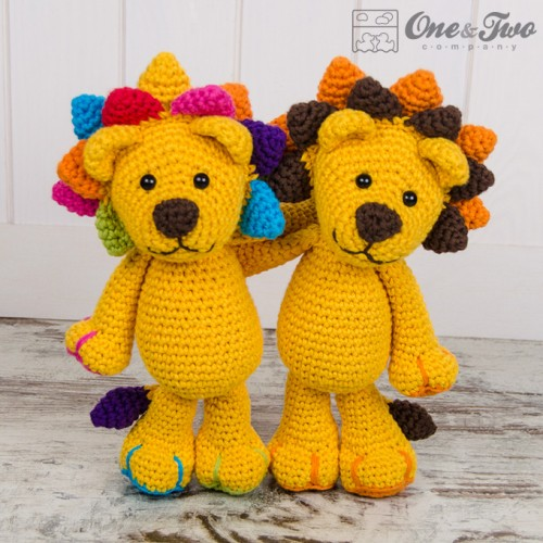 Little Amigurumi Lion : Logan the Lion Amigurumi Crochet Pattern