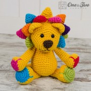Logan the Lion Amigurumi Crochet Pattern
