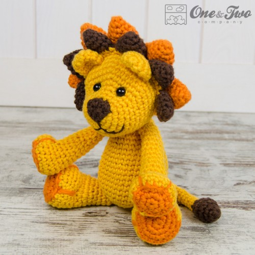 Amigurumi Lion Perriton : Logan the lion amigurumi crochet pattern
