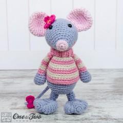 Emily the Mouse Amigurumi Crochet Pattern