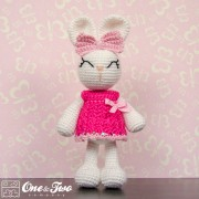 Olivia the Bunny Amigurumi Crochet Pattern