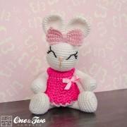 Olivia the Bunny Amigurumi Crochet Pattern