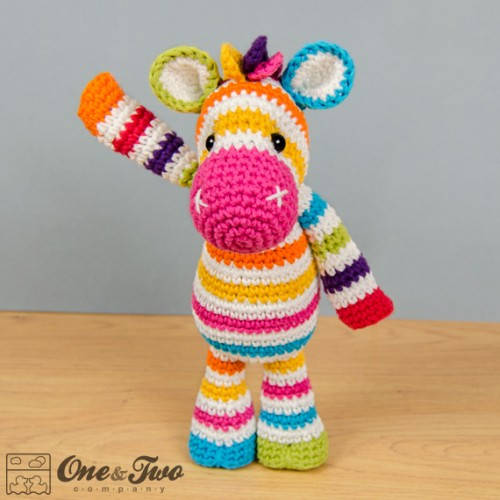 Amigurumi And Crochet : Rainbow Zebra Amigurumi Crochet Pattern