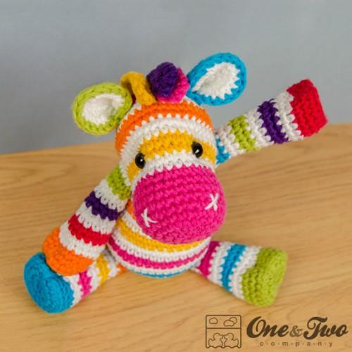 Zebra amigurumi crochet pattern rainbow zebra amigurumi crochet pattern dt1010fo
