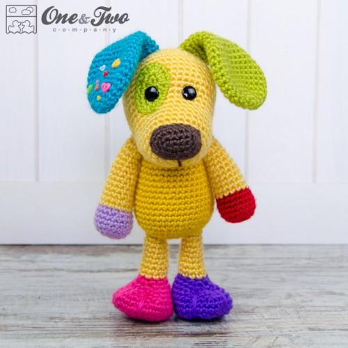 PATTERN: Sammy the Puppy Dog, Crochet dog, crochet Animal, Crochet ... | 500x500