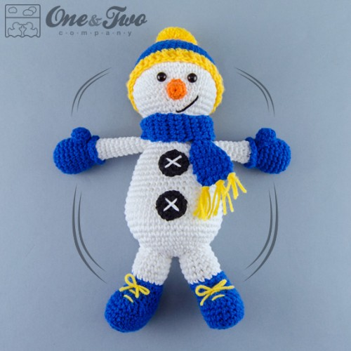 Free Amigurumi Snowman Patterns : Snowman Amigurumi Crochet Pattern