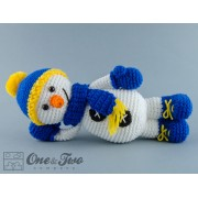 Snowman Lovey and Amigurumi Crochet Patterns Pack