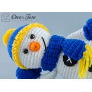 Snowman Amigurumi Crochet Pattern
