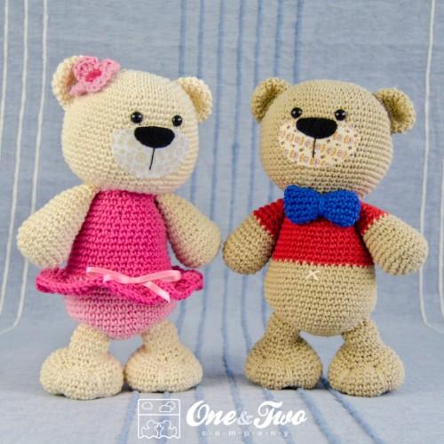 Free Amigurumi Patterns Crochet : Teddy Sweet Hugs Amigurumi Crochet Pattern