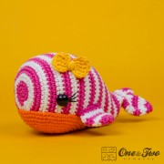 Willa the Whale Amigurumi Crochet Pattern