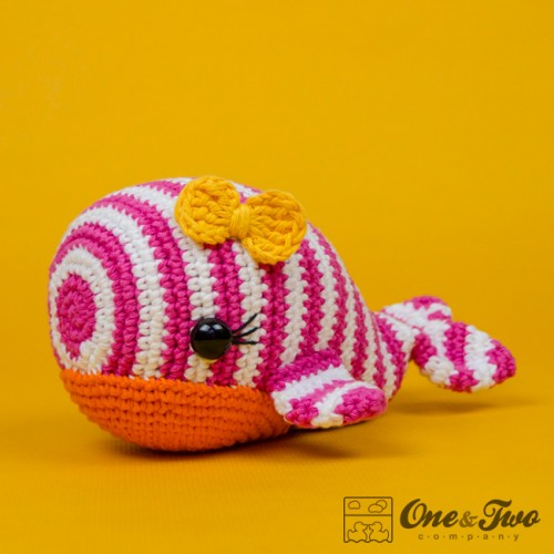 Whale Amigurumi Loops & Love Crochet | 500x500