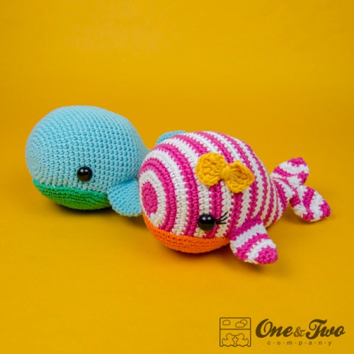 Amigurumi Christmas Ornaments Patterns : Willa the Whale Amigurumi Crochet Pattern