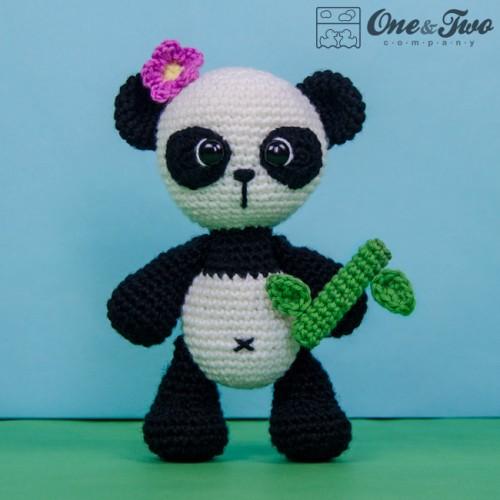 Crochet Panda Bear Mod Amigurumi Free Patterns- Amigurumi #Panda ... | 500x500