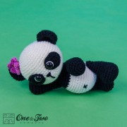 Zhen the Panda Amigurumi Crochet Pattern