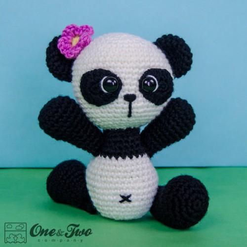 Zhen the Panda Amigurumi Crochet Pattern