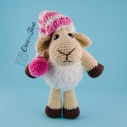 Chloe the Sheep Lovey and Amigurumi Crochet Patterns Pack