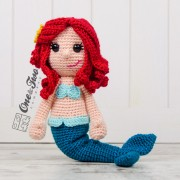 Marina the Mermaid Amigurumi Crochet Pattern