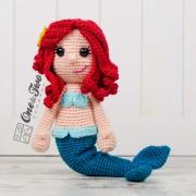 Marina the Mermaid Amigurumi Crochet Pattern