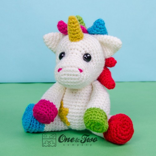 Jazzy the Unicorn Free Amigurumi Pattern | Jess Huff | 500x500