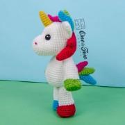 Nuru the Unicorn Amigurumi Crochet Pattern