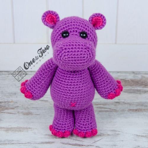 Baby Knitting Patterns Melman - Amirugumi Hippo [Free Crochet ... | 500x500
