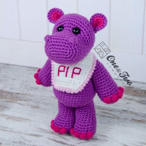 Amigurumi pattern Crochet Hippo pattern Crochet pattern | Etsy | 500x500